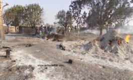 Incendie criminel à Djida Mouride (Niani Toucouleur) : plusieurs dégâts enregistrés