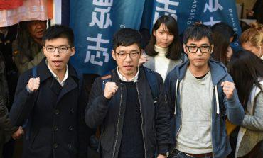 Les trois militants prodémocratie de Hong Kong contestent en justice leur emprisonnement