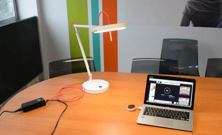 Une lampe pour se connecter à internet avec MyLiFi