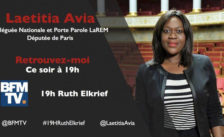 Laetitia Avia, députée LREM (France), originaire du Togo, traitée de grosse truie noire venue d'Afrique