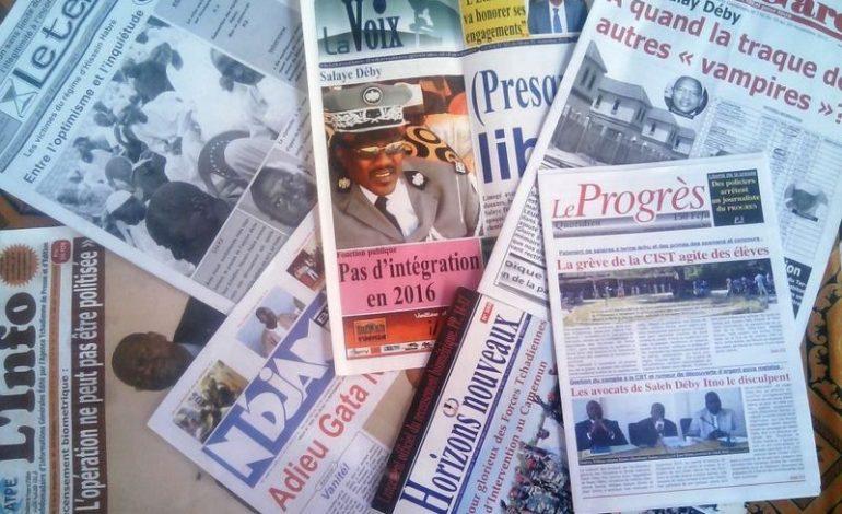 Une journée sans presse décrétée au Tchad par l'Union des Journalistes Tchadiens