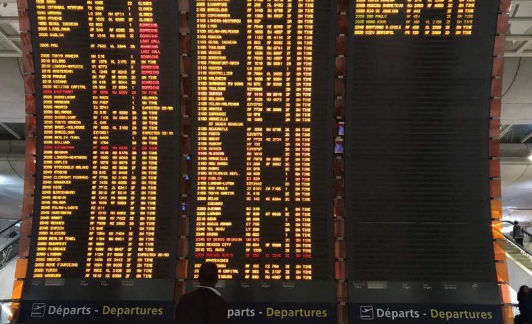 50 % des vols long courriers d'Air France cloués au sol jeudi par une grève, le vol AF718 de Dakar annulé