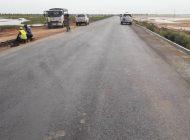 Macky Sall en déplacement à Fatick et Kaolack pour inaugurer des routes et un pont dans un environnement sale à Foundiougne