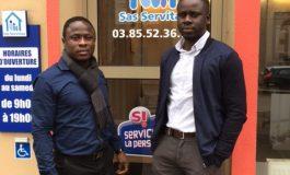 Mouhamadou Mounirou et Babacar Niang créent leur entreprise de services à la personne à Autun