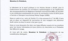 La vaccination contre la fièvre jaune obligatoire pour rentrer au Sénégal à compter du 22 février 2018