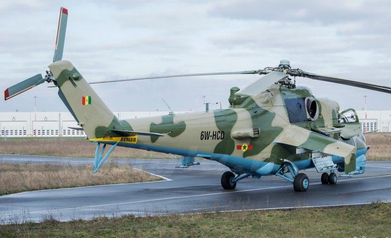 Le drapeau du Sénégal à l'envers sur les hélicoptères vendus par la Pologne à l'armée