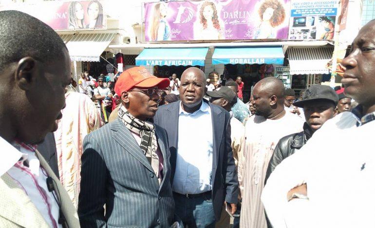 Le préfet de Dakar, Alioune Badara Sambe réagit après le sit-in avorté de l'opposition sénégalaise