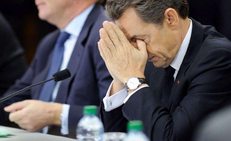 Nicolas Sarkozy une nouvelle fois interrogée par les juges dans l'affaire du financement libyen