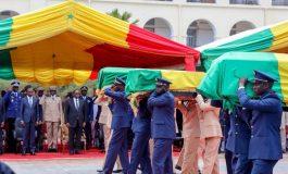 Aux soldats morts dans le crash de Missirah, la nation Sénégalaise reconnaissante