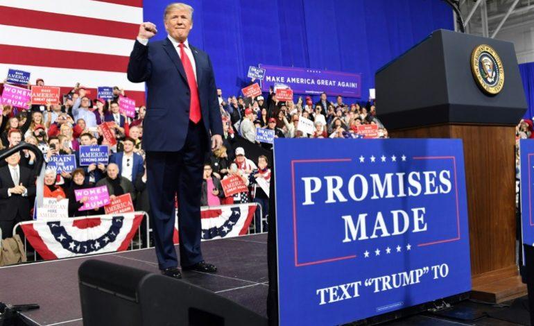 Donald Trump menace d'imposer une taxe de 20% sur les voitures importées de l'Union Européenne