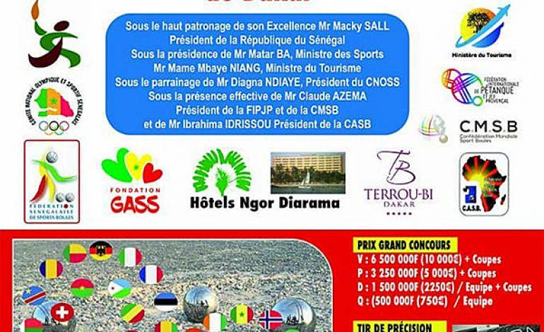 Open International de pétanque à Dakar