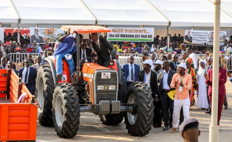 Macky Sall promet 700 millions FCFA aux éleveurs sénégalais