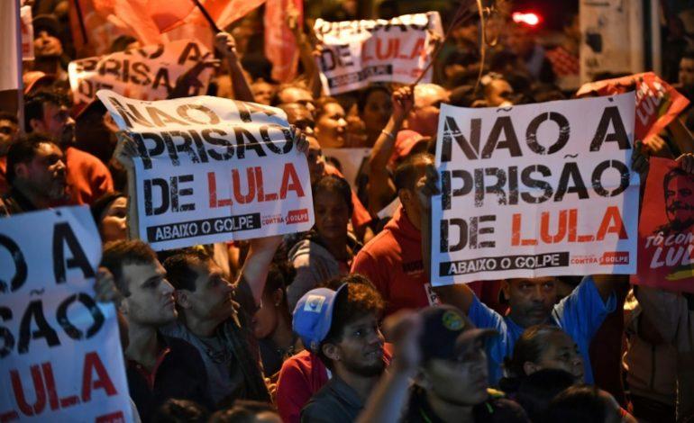 Lula officiellement candidat, depuis sa prison