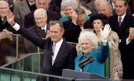 Décès à 92 ans de Barbara Bush, femme de l'ancien président américain George H. W. Bush et mère de l'ancien président George W. Bush
