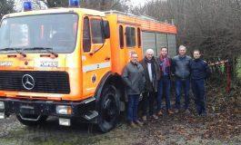 Hesbaye offre ses véhicules aux pompiers de Saly Portudal