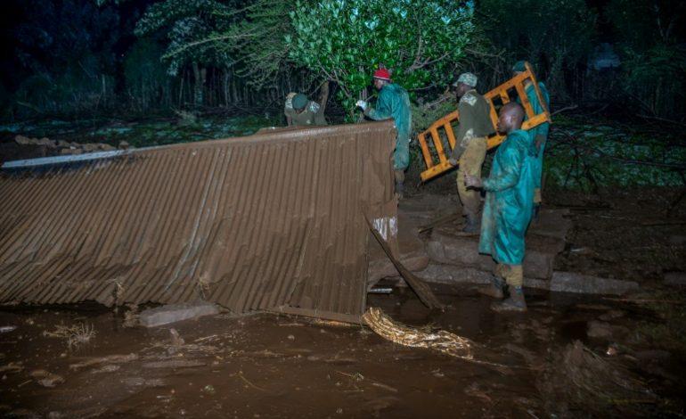 Au moins 27 morts dans la rupture d'un barrage au Kenya