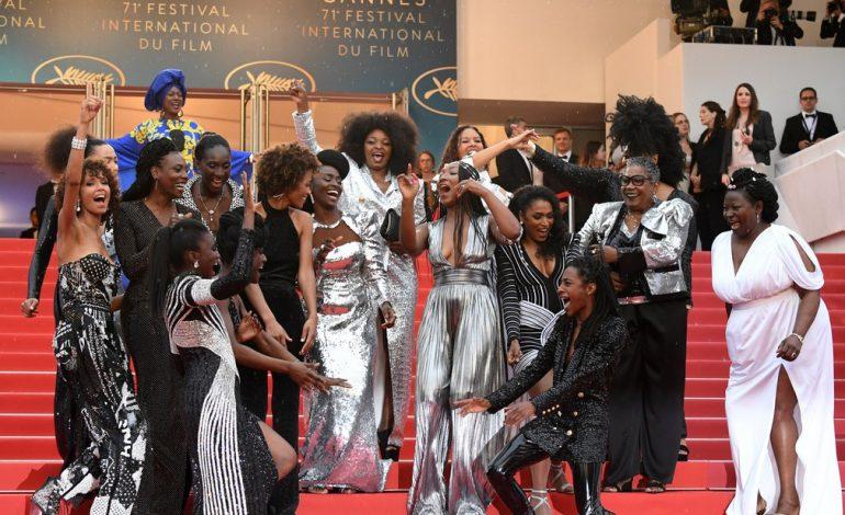 Seize actrices noires et métisses sur le tapis rouge à Cannes pour lutter contre les discriminations