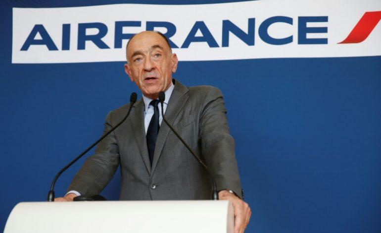 Le PDG d'Air France, Jean Marc Janaillac démissionne, désavoué par les salariés