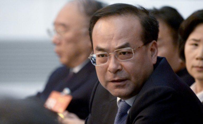 Sun Zhengcai, ex-étoile du Parti Communiste Chinois condamné à la prison à vie pour corruption