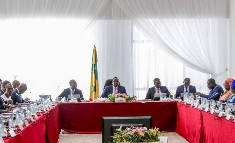 Communiqué du Conseil des Ministres du 7 novembre 2018