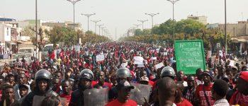 Les étudiants maintiennent la pression et marchent dans toutes les villes du Sénégal