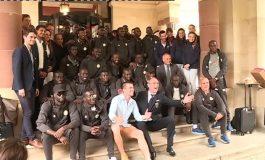 Les Lions du Sénégal sont arrivés à Vittel !
