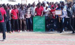Marche de l'opposition dans la banlieue ce 12 août 2018 : les jeunes en première ligne