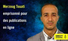 Le blogueur algérien, Merzoug Touati condamné à 10 ans de prison pour intelligence avec une puissance étrangère