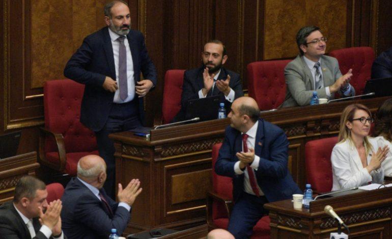 L'opposant Nikol Pachinian élu premier ministre en Arménie