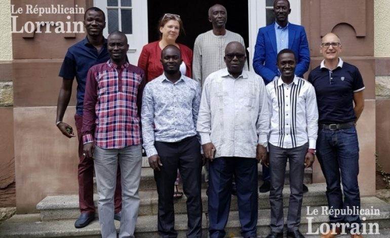 Le CHNU de Lorquin(Metz) accueille les Pr Thiam, Ndoye et Faye du CHU de Fann