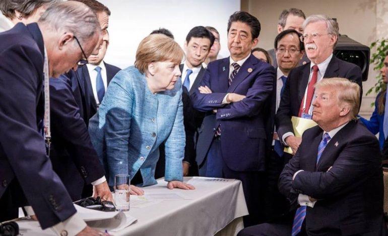Affrontement Donald Trump et Angela Merkel au sommet de l'Otan