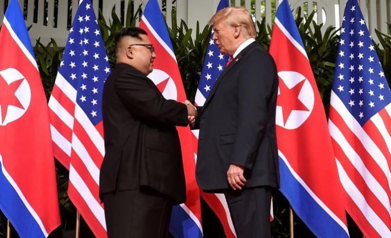 Kim Jong Un s'engage pour une «dénucléarisation complète» lors d'un sommet historique avec Donald Trump
