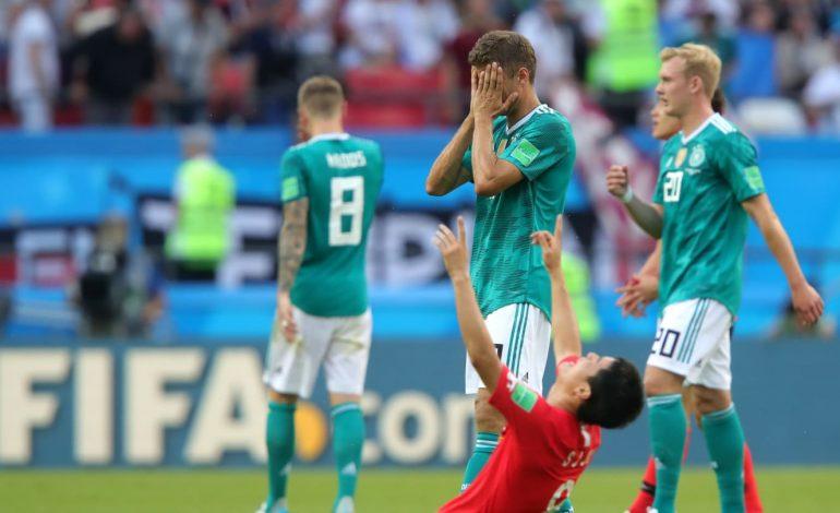 Auf Wiedersehen: l'Allemagne battue par la Corée du Sud 0-2