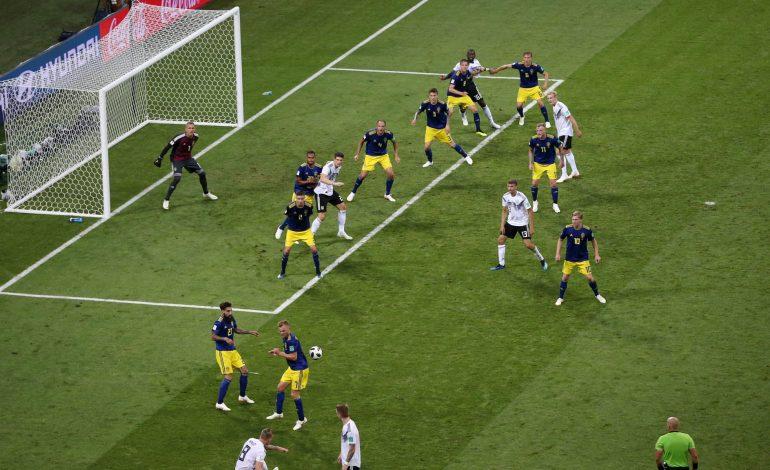 L'Allemagne l'emporte sur le fil face à la Suède 2-1