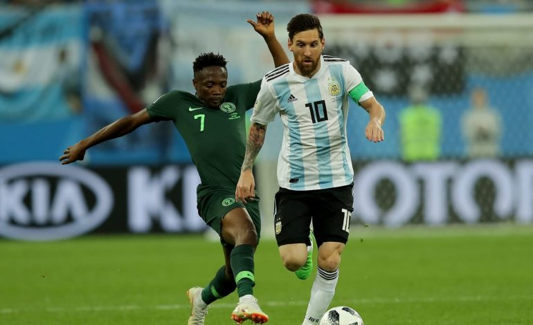 L'Argentine se qualifie in-extremis face au Nigéria 2-1