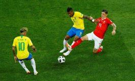 Le Brésil accroché par la Suisse 1-1