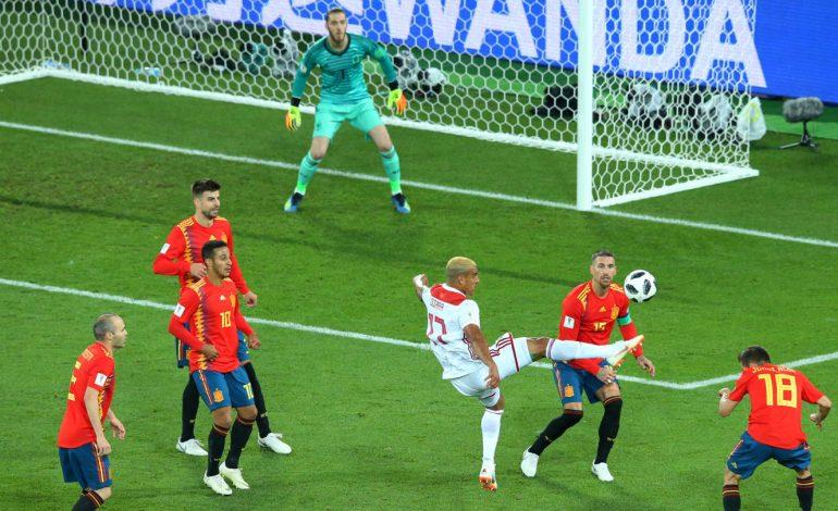 L'Espagne arrache le nul face au Maroc 2-2