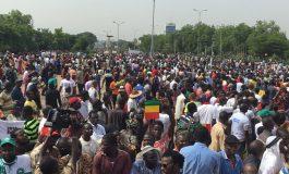 Manifestation de l'opposition malienne contre la réélection du président Ibrahim Boubacar Keïta