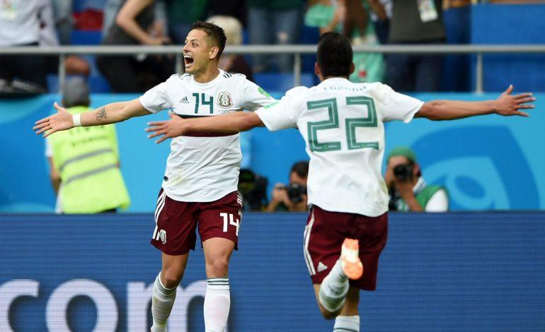 Le Mexique bat la Corée du Sud 2-1