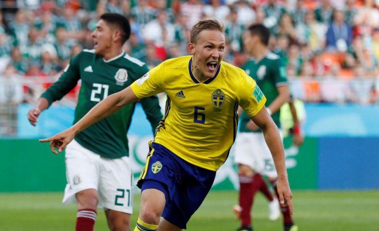 Humilié par la Suède (0-3), le Mexique passe quand même en 8es de finale