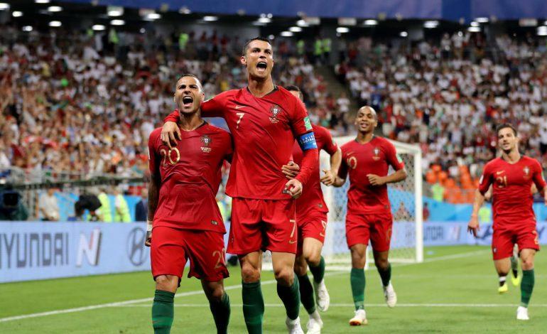 L'Iran tient tête au Portugal  1-1