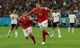 La Russie est (presque) en 8e après sa victoire face à l'Egypte 3-1