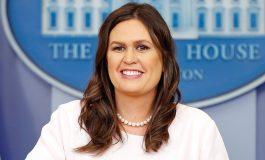 Sarah Sanders, la porte-parole de la Maison Blanche priée de quitter un restaurant