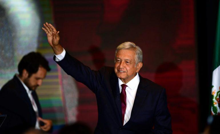 Le vétéran de gauche, Andrés Manuel Lopez Obrador élu président du Mexique