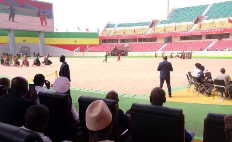 Le président Xi JinPing remet les clés de l'arène nationale à Macky Sall