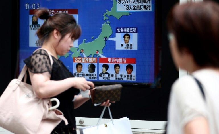 Les 13 condamnés à mort de la secte Aum ont été pendus au Japon
