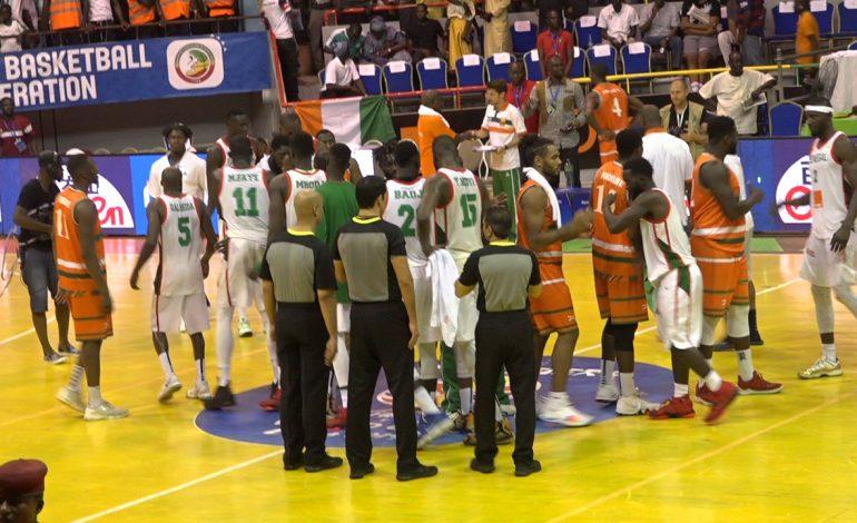 Les Lions du basket dominent le Mozambique 78 à 63