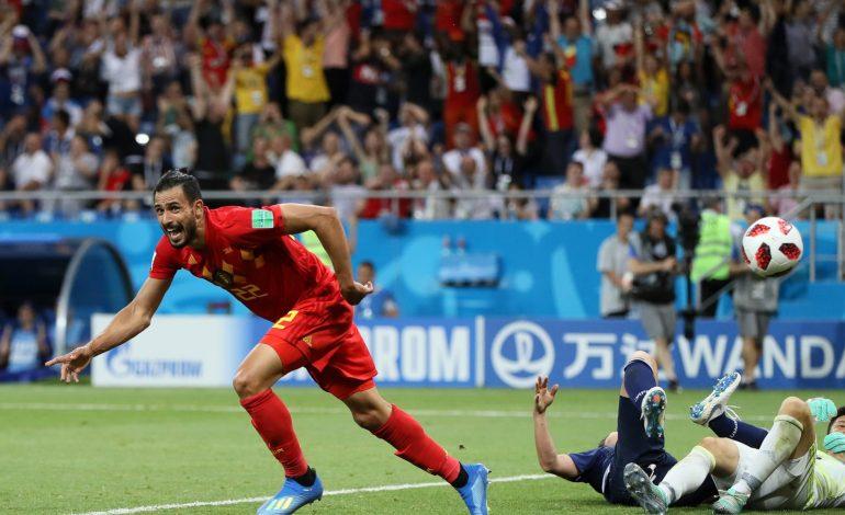 La Belgique l'emporte au finish face au Japon 3-2 et file en quarts de finale