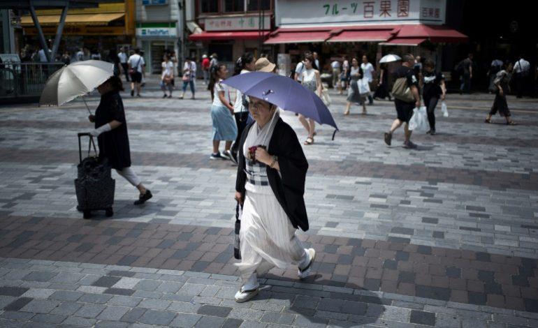La chaleur a fait 80 morts au Japon et conduit 35.000 personnes à l'hôpital