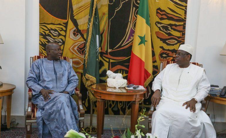 Modou Diagne Fada et le LDR YEESAL vont soutenir la candidature de Macky Sall en 2019